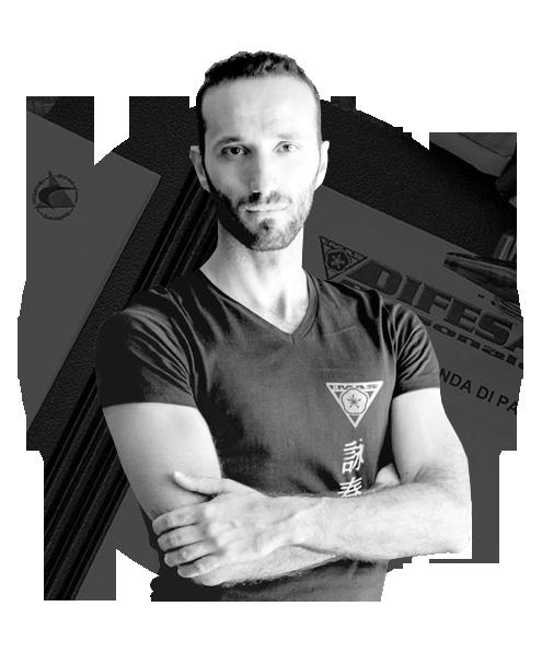 Valerio Petecchia istruttore Autodifesa Roma